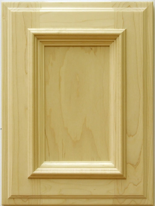 Benevon cabinet door with applied moulding in maple