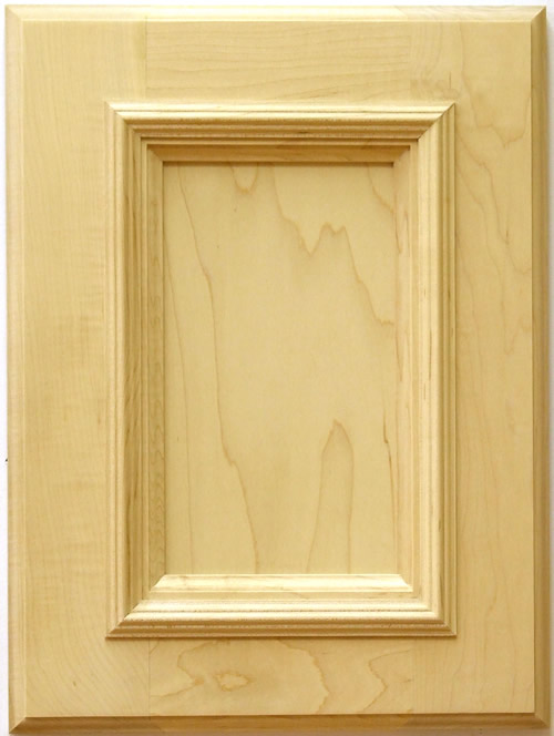 Mitchell cabinet door with applied mouldings in maple