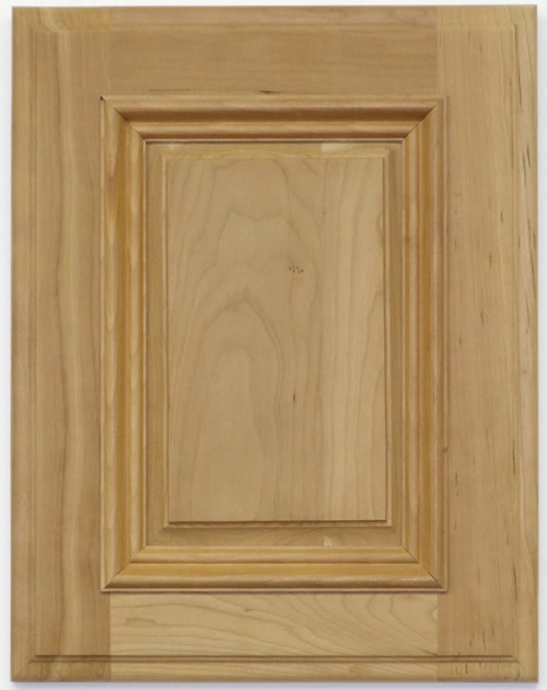 Farrier cabinet door with applied moulding in Cherry