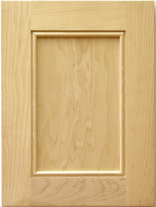 Stonybrook cabinet door with applied bead moulding in maple