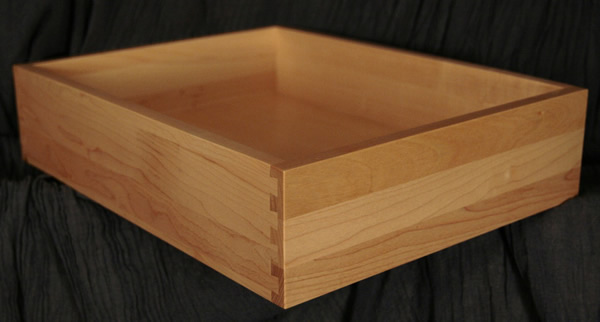 Allstyle Cabinet Doors: Maple Dovetail Drawer