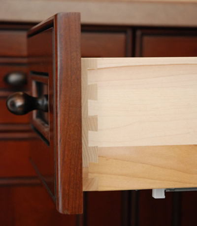 Allstyle Cabinet Doors : Dovetail side view